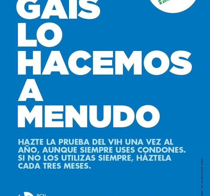 """BCN Checkpoint lanza la campaña """"Los gais lo hacemos a menudo"""" para promover que se incremente la frecuencia de la prueba del VIH"""