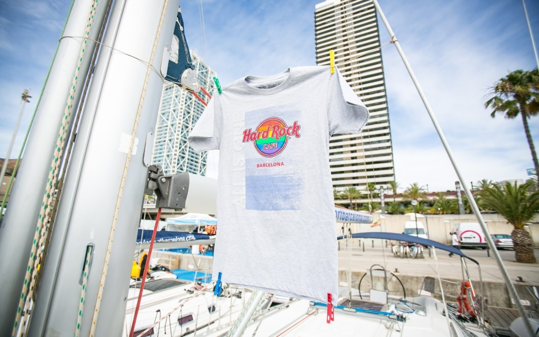 "Hard Rock Cafe Barcelona destina a BCN Checkpoint el 15% de la venta de su camiseta especial para el PRIDE ""ALL IS ONE"""