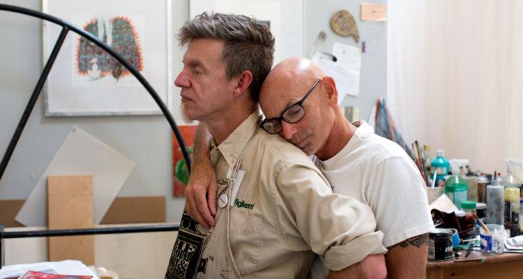 Michael Meulbroek y Ferran Pujol hablan de la epidemia del sida en el marco del 16º Festival de Cinema Gai i Lèsbic de Barcelona