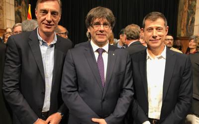 Projecte dels NOMS-Hispanosida recibe la Creu de Sant Jordi de la Generalitat de Catalunya por más de dos décadas de respuesta eficaz al VIH/sida