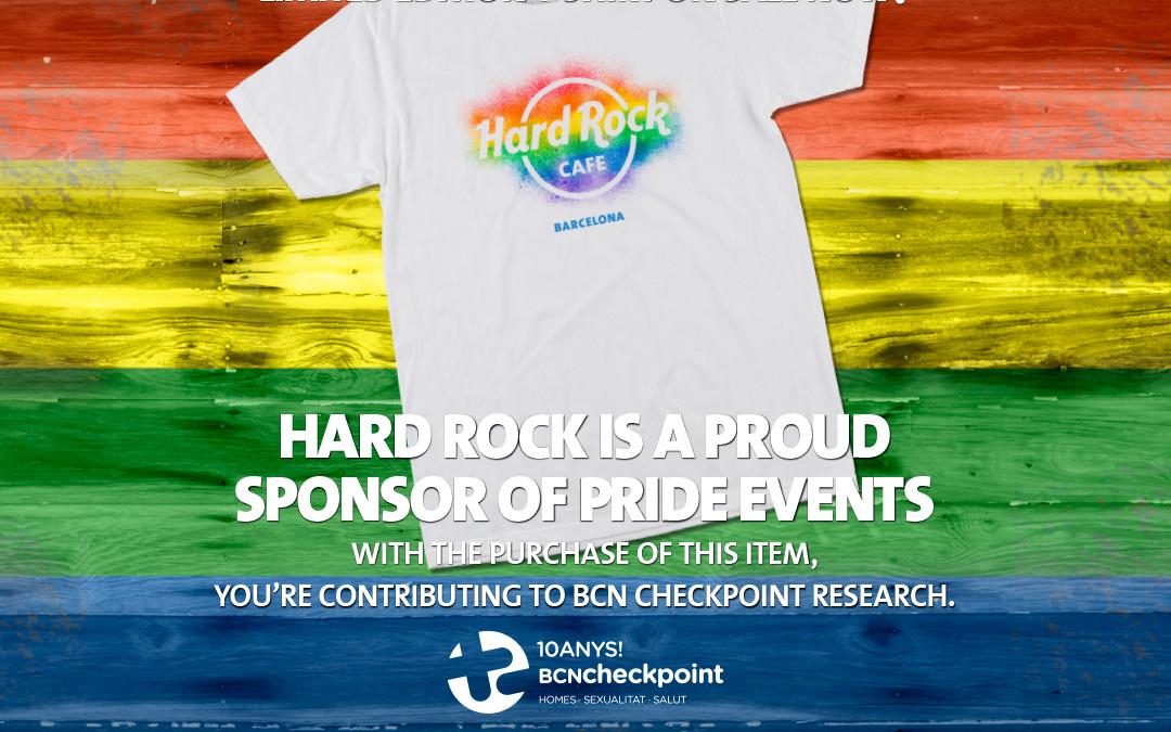 Hard Rock Cafe Barcelona, comprometido con la salud sexual de la comunidad LGTBI
