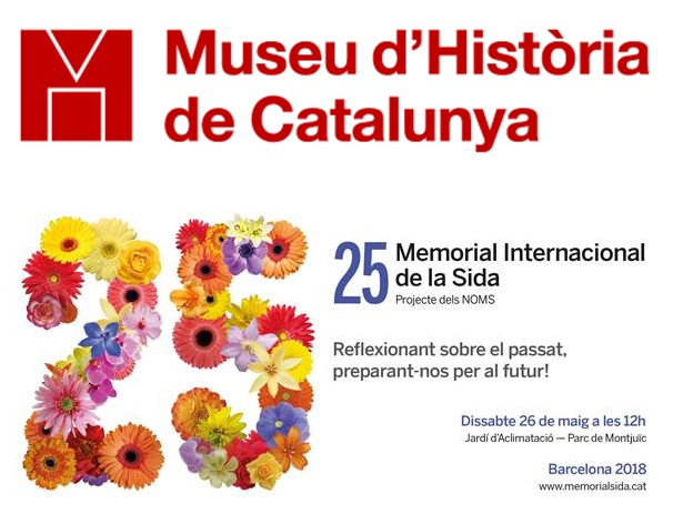 El Museo de Historia de Cataluña exhibe del 22 al 28 de mayo una selección de secciones del Tapiz Memorial del Sida con motivo del 25º Memorial Internacional del Sida