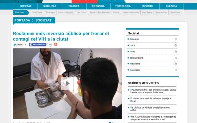 BTV: Reclamen més inversió pública per frenar el contagi del VIH a la ciutat