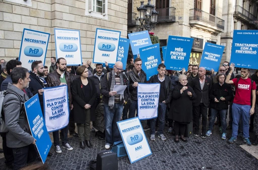 """""""Tenemos una oportunidad histórica para frenar el VIH y no permitiremos que Catalunya la desaproveche, ¡nos va salud del colectivo en ello!"""""""