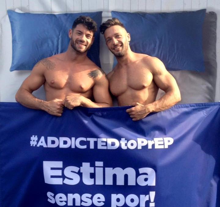 BCN Checkpoint y ADDICTED hacen campaña a favor de la PrEP en el Pride Barcelona 2016