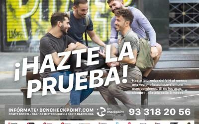 BCN Checkpoint busca revalidar el éxito de la promoción del diagnóstico precoz del VIH en el colectivo gay con una nueva campaña